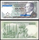 Turquia - 10000 LIRASI 1989ND