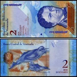 Venezuela VEN2(2007)g - 2 BOLIVARES 2007