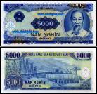 Vietnam - 5000 DONG 1991