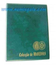 Álbum para moedas A5 (verde escuro)