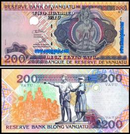 Vanuatu - 200 VATU 2011ND
