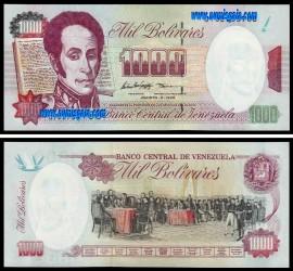 Venezuela - 1000 BOLIVARES 1998