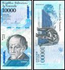 Venezuela - 10000 BOLIVARES 2017