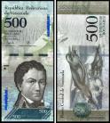 Venezuela VEN500(2017)a - 500 BOLIVARES 2017