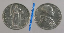 Vaticano Y#51.1VA53 - 5 LIRE 1953