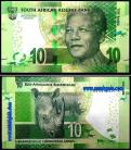 South Africa ZAF10(2015-16ND)g - 10 RAND 2015-16ND