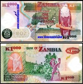 Zambia ZMB1000(2011)i - 1000 KWACHA 2011