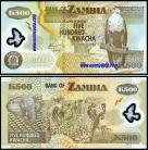 Zambia ZMB500(2011)f - 500 KWACHA 2011