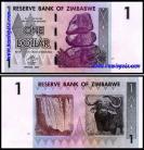 Zimbabué ZWE1(2007)k - 1 DOLLAR 2007