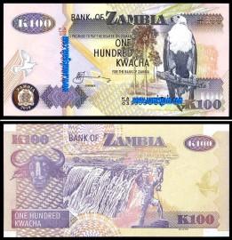 Zambia ZMB100(2010)d - 100 KWACHA 2010