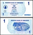 Zimbabué ZWE1(2006)e - 1 DOLLAR 2006
