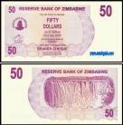 Zimbabué - 50 DOLLARS 2006